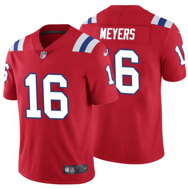 Nike Patriots 16 Jakobi Myers Red Vapor Untouchable Limited Jersey