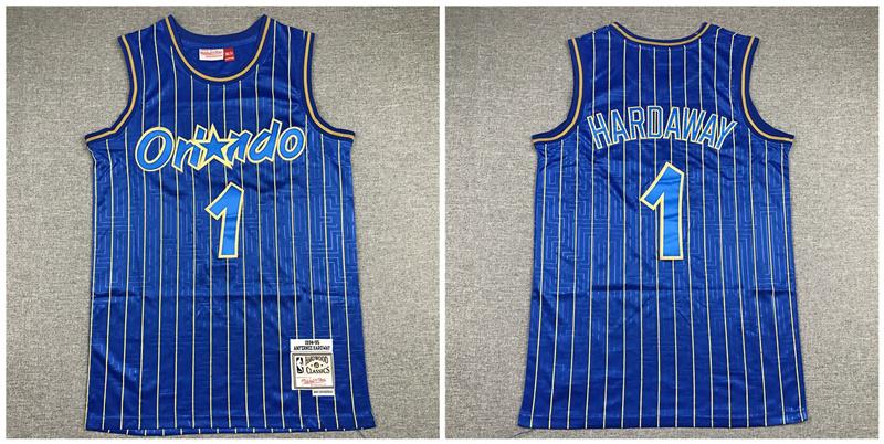 Magic 1 McGrady Blue 1994-95 Hardwood Classics Jersey