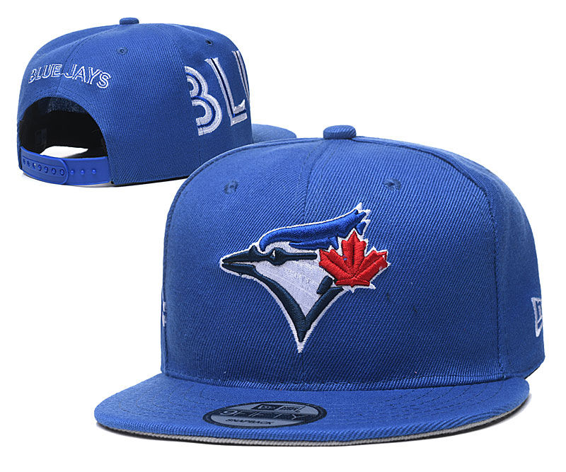Blue Jays Team Logo Royal Adjustable Hat YD