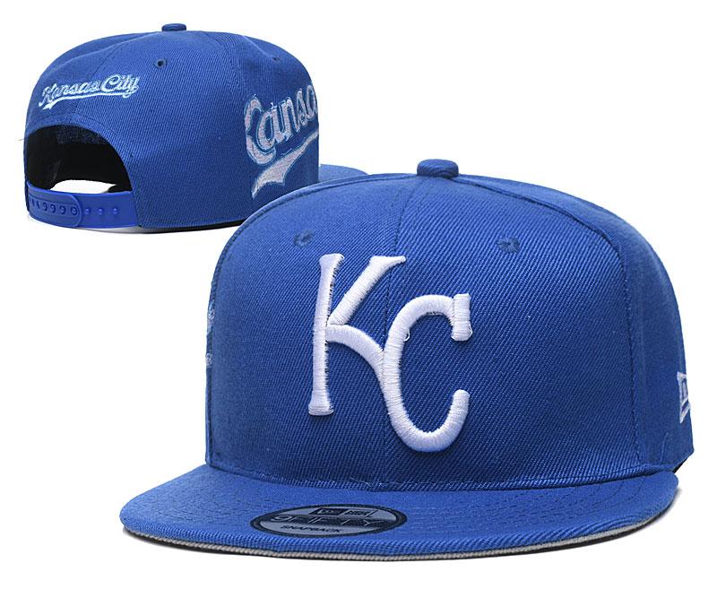 Royals Team Logo Royal Adjustable Hat YD
