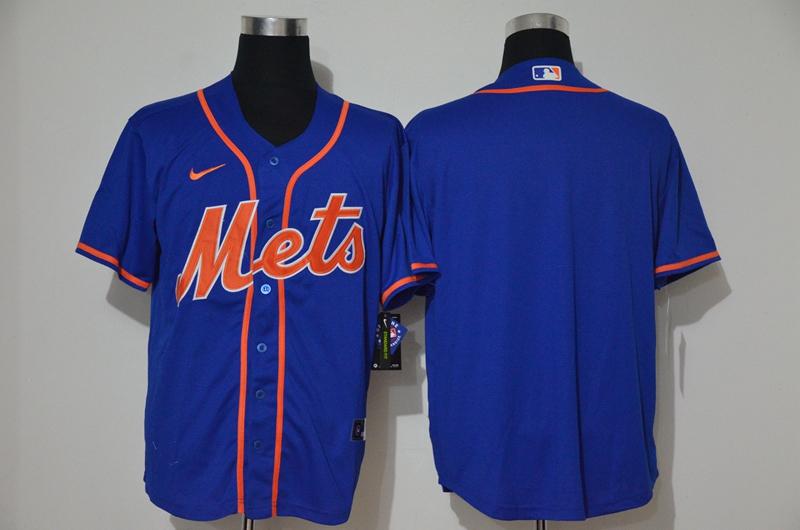 Mets Blank Royal Nike 2020 Cool Base Jersey