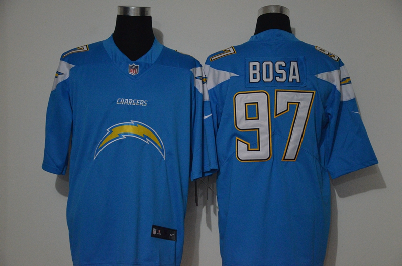 Nike Chargers 97 Joey Bosa Blue Vapor Untouchable Limited Jersey