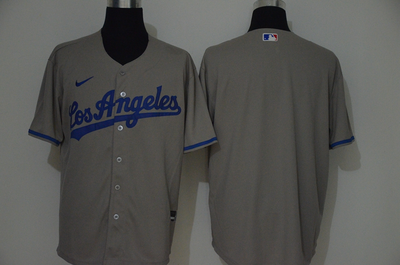 Angels Blank Gray 2020 Nike Cool Base Jersey