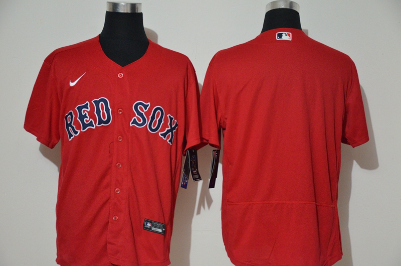 Red Sox Blank Red 2020 Nike Flexbase Jersey