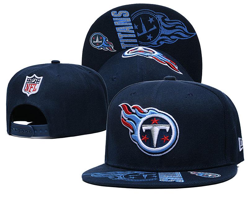 Titans Team Logo Navy Adjustable Hat GS