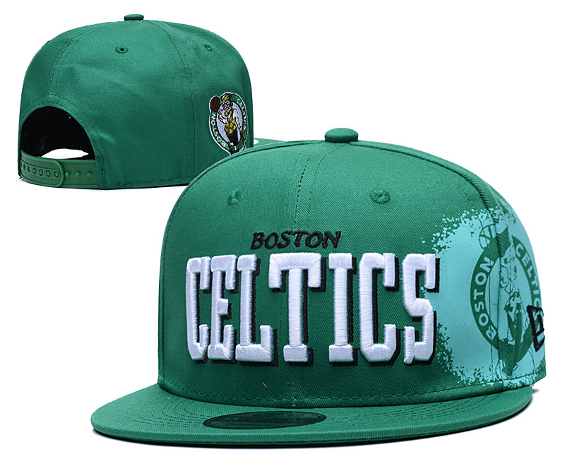 Celtics Team Logo Green Adjustable Hat YD