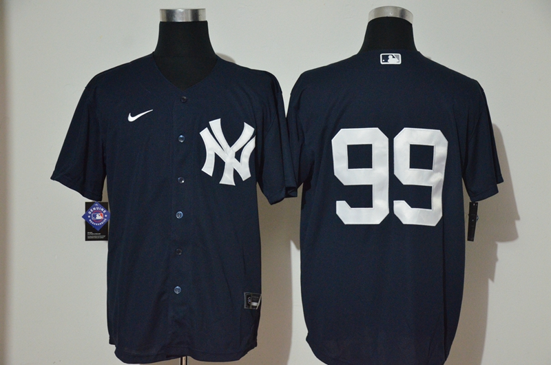 Yankees 99 Aaron Judge Navy 2020 Nike Cool Base Replica Jersey