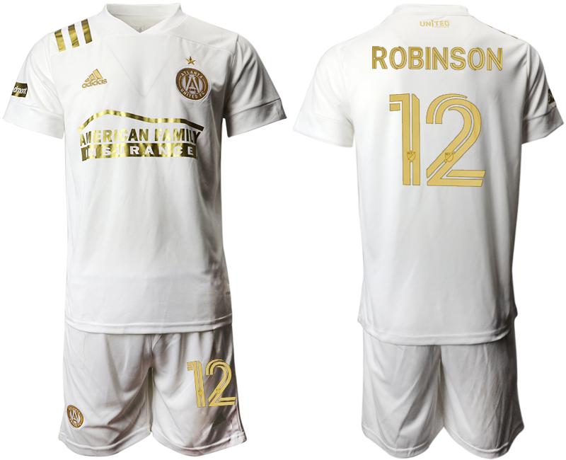2020-21 Atlanta United FC 12 ROBINSON Away Soccer Jersey