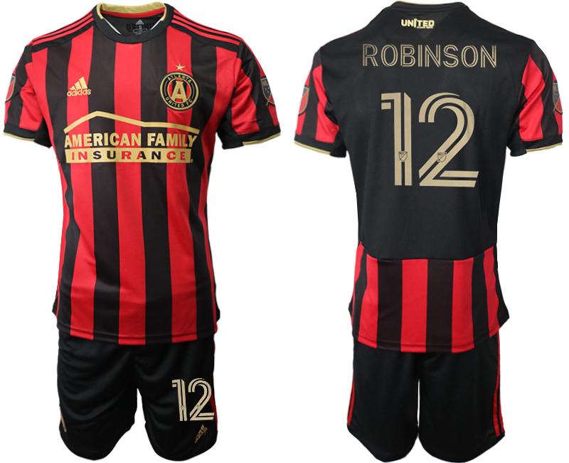 2020-21 Atlanta United FC 12 ROBINSON Home Soccer Jersey
