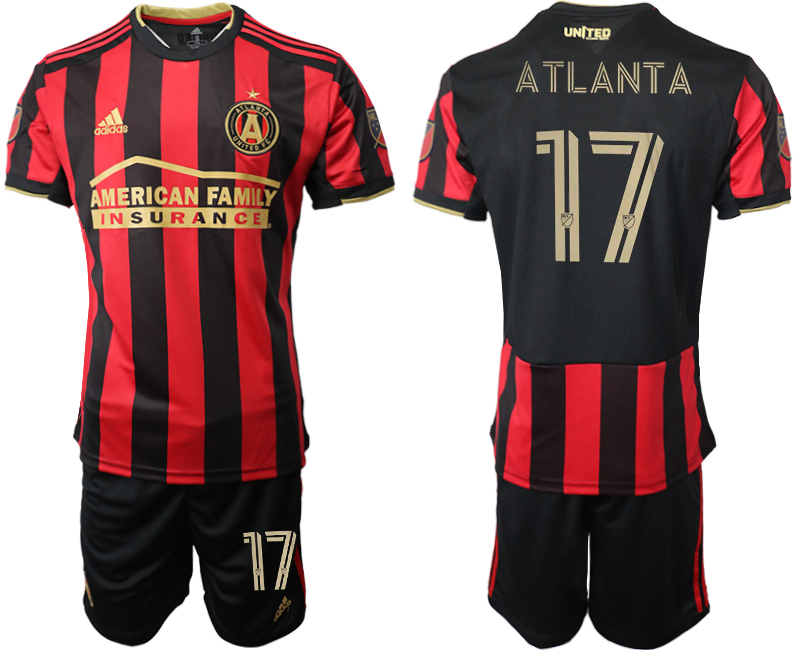 2020-21 Atlanta United FC 17 A TLANT A Home Soccer Jersey