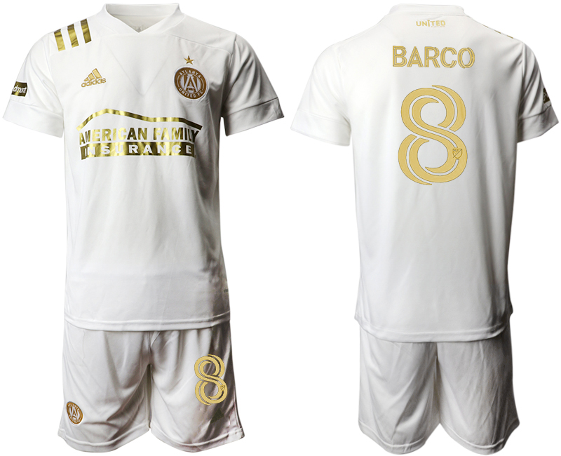 2020-21 Atlanta United FC 8 BARCO Away Soccer Jersey