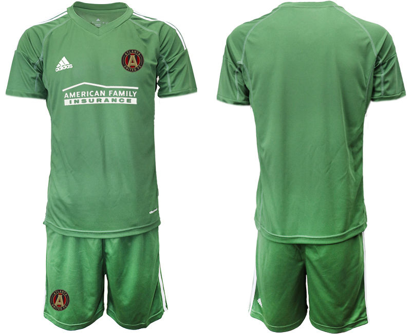 2020-21 Atlanta United FC Army Green Goalkeeper Soccer Jersey