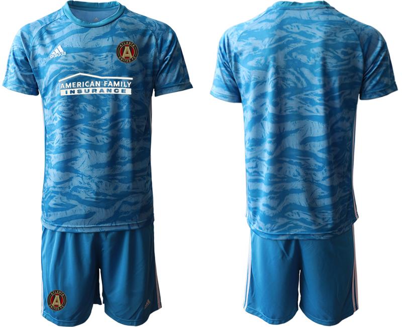 2020-21 Atlanta United FC Blue Goalkeeper Soccer Jersey
