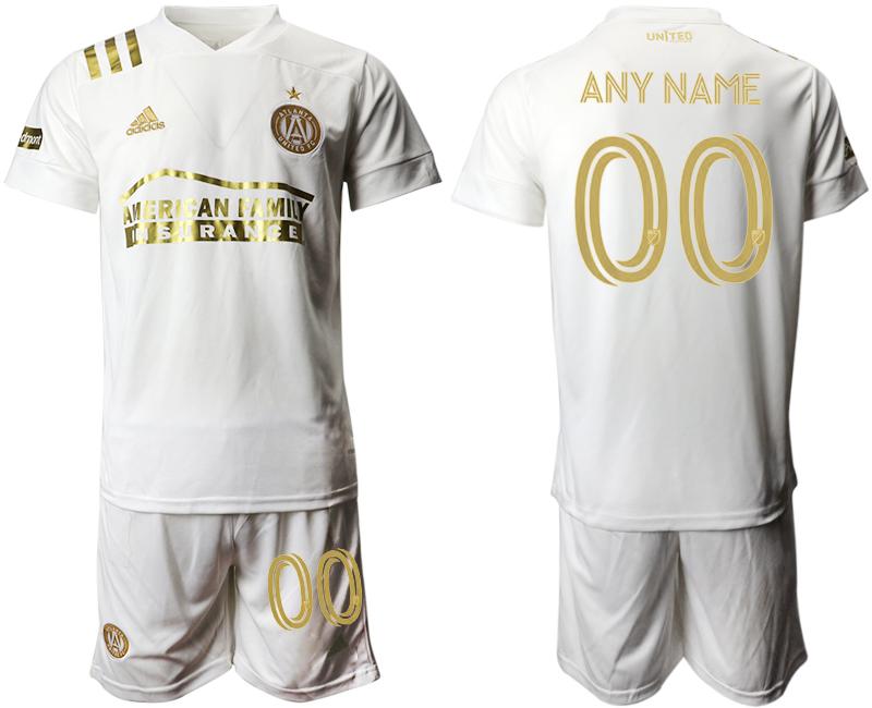 2020-21 Atlanta United FC Customized Away Soccer Jersey