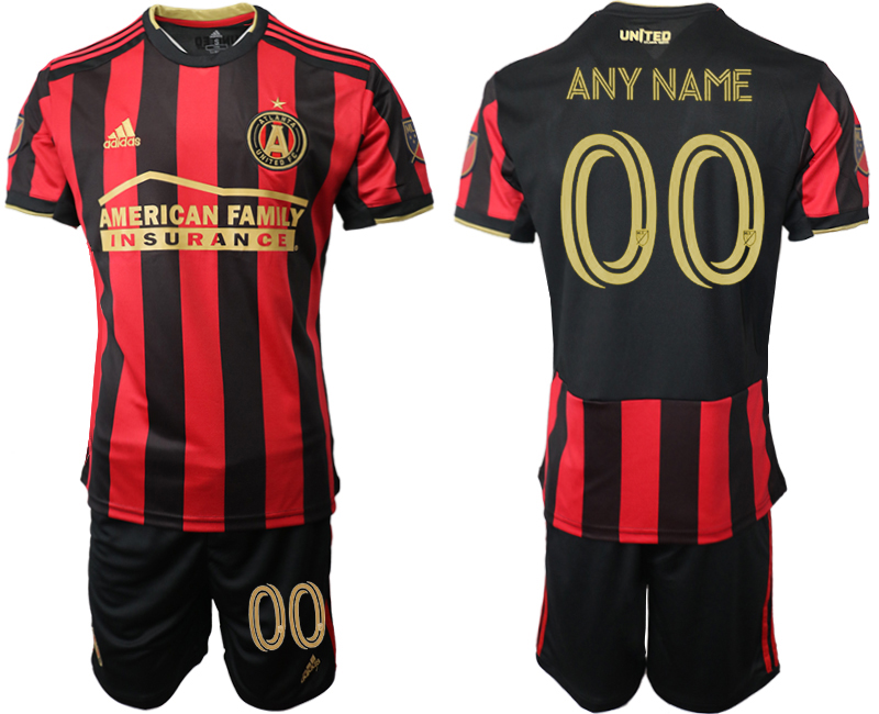 2020-21 Atlanta United FC Customized Home Soccer Jersey