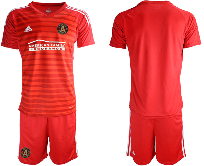 2020-21 Atlanta United FC Red Goalkeeper Soccer Jerseys