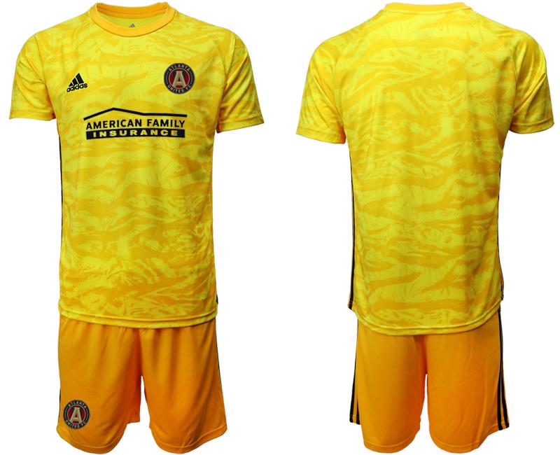 2020-21 Atlanta United FC Yellow Goalkeeper Soccer Jersey