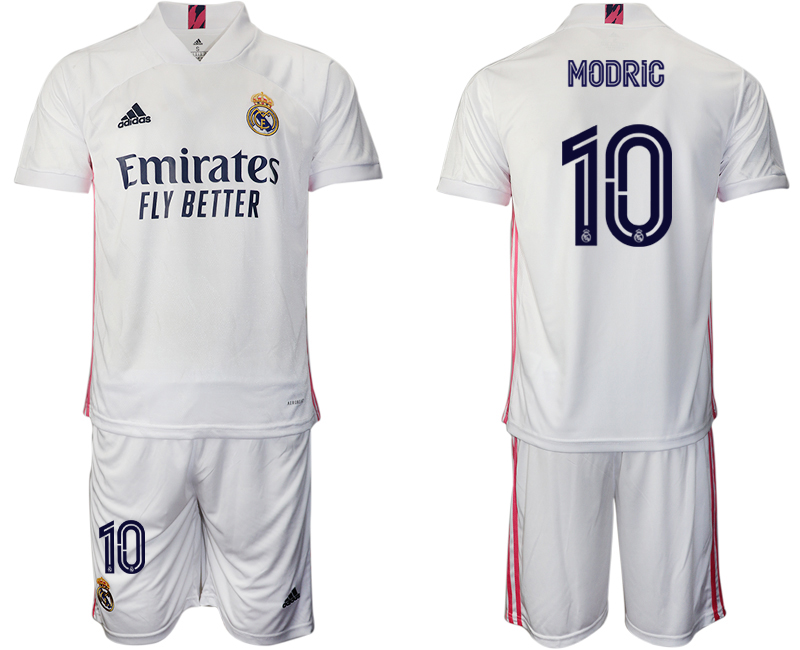 2020-21 Real Madrid 10 MODRIC Home Soccer Jersey