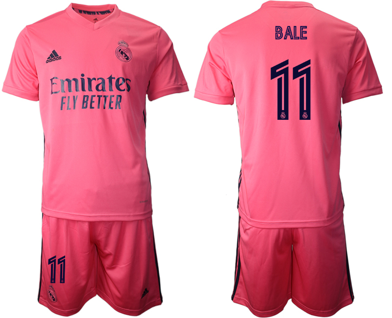 2020-21 Real Madrid 11 BALE Away Soccer Jersey