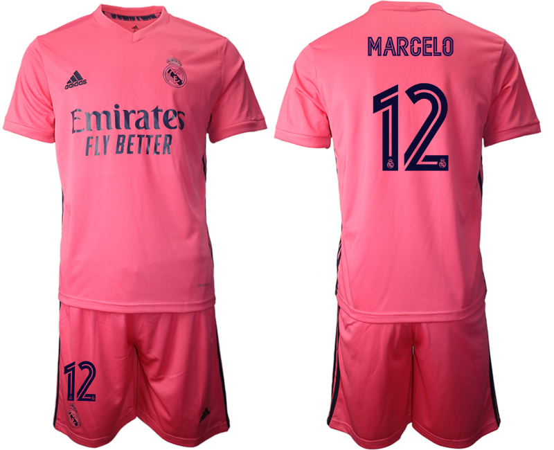 2020-21 Real Madrid 12 MARCELO Away Soccer Jersey