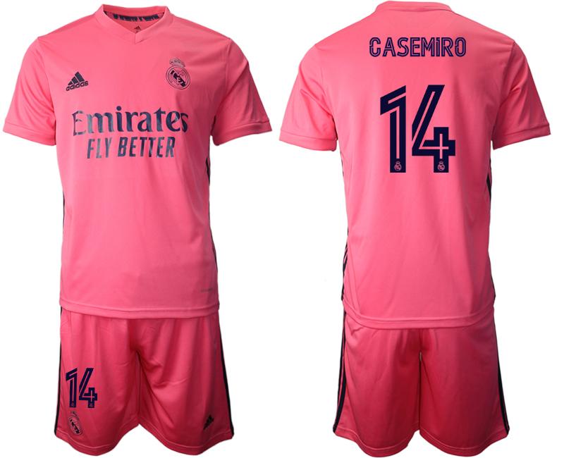 2020-21 Real Madrid 14 CASEMIRO Away Soccer Jersey