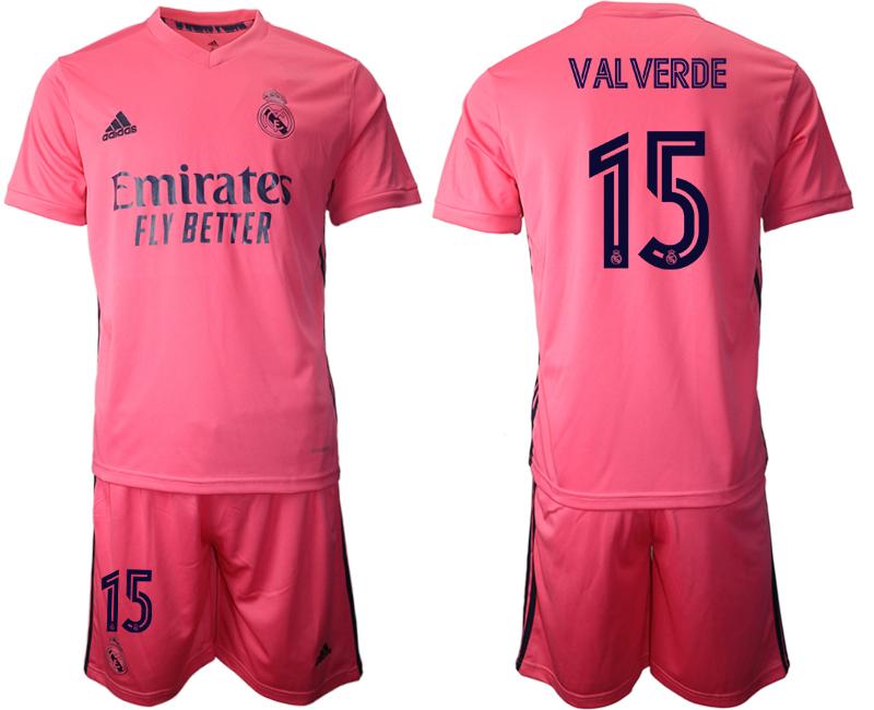 2020-21 Real Madrid 15 VALVERDE Away Soccer Jersey