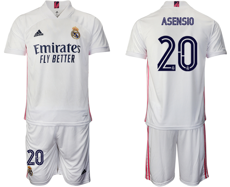 2020-21 Real Madrid 20 ASENSIO Home Soccer Jersey