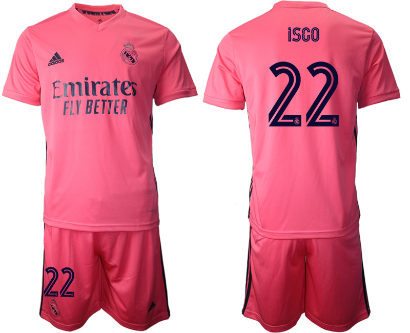 2020-21 Real Madrid 22 ISCO Away Soccer Jersey
