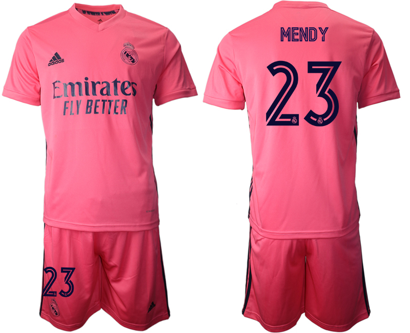 2020-21 Real Madrid 23 MENDY Away Soccer Jersey