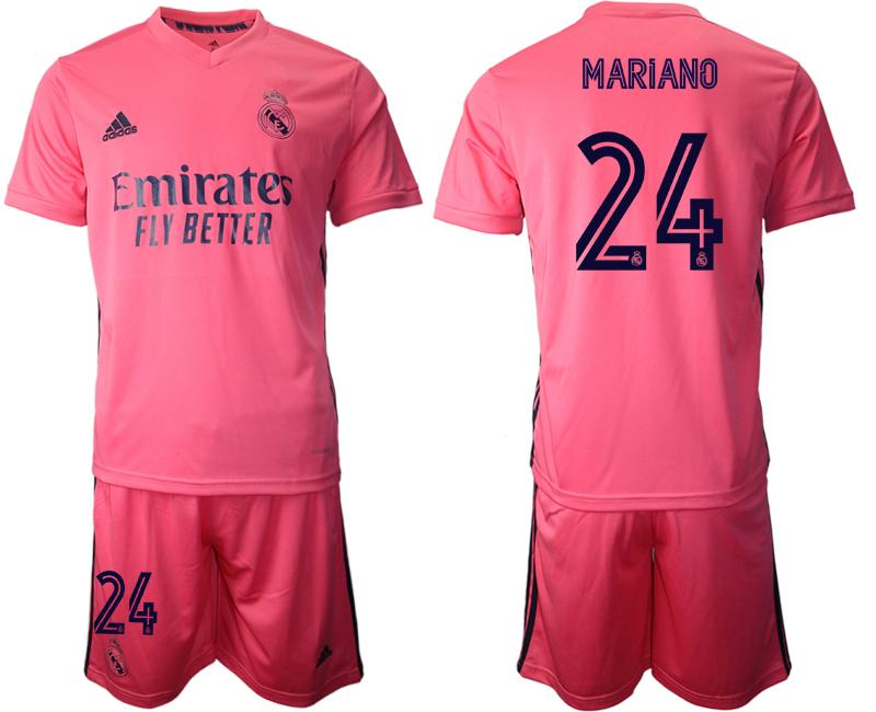 2020-21 Real Madrid 24 MARIANO Away Soccer Jersey