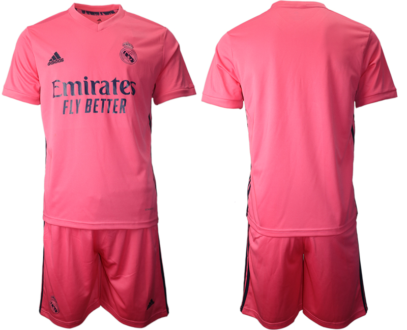 2020-21 Real Madrid Away Soccer Jersey