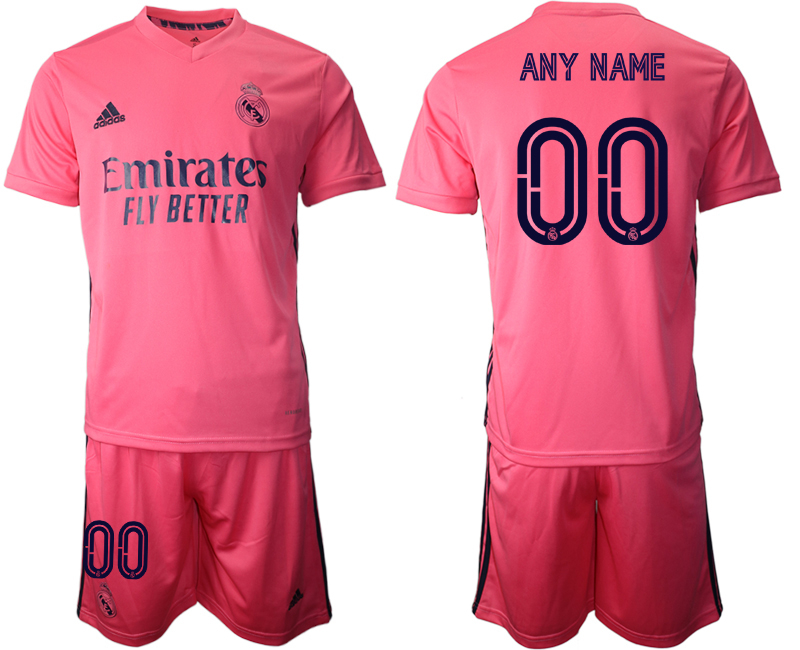 2020-21 Real Madrid Customized Away Soccer Jersey