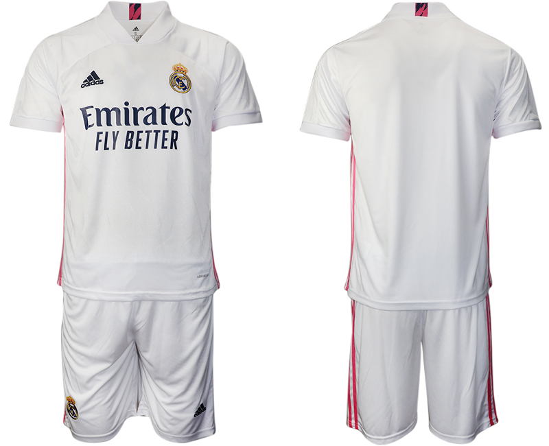 2020-21 Real Madrid Home Soccer Jersey