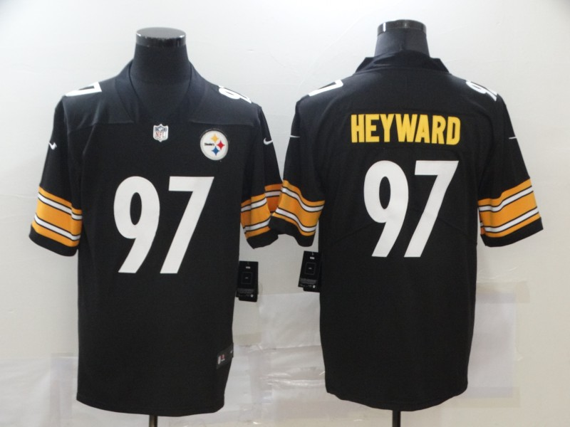 Nike Steelers 97 Cameron Heyward Black Vapor Untouchable Limited Jersey