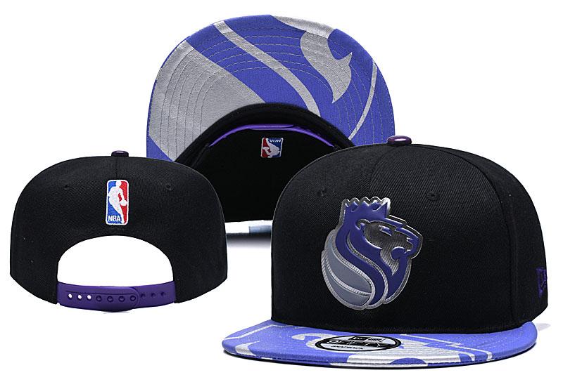 Kings Team Logo Black Adjustable Hat YD