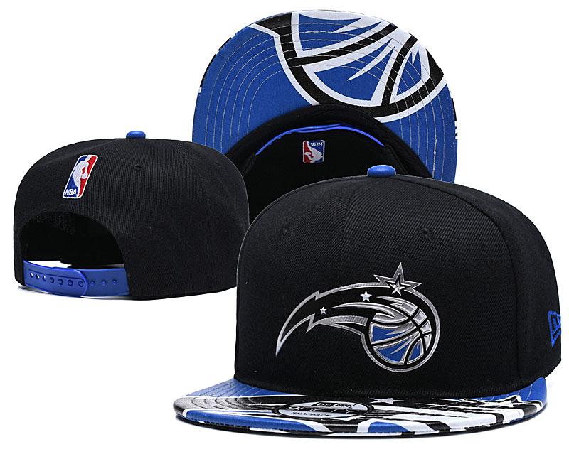 Magic Team Logo Black Adjustable Hat YD