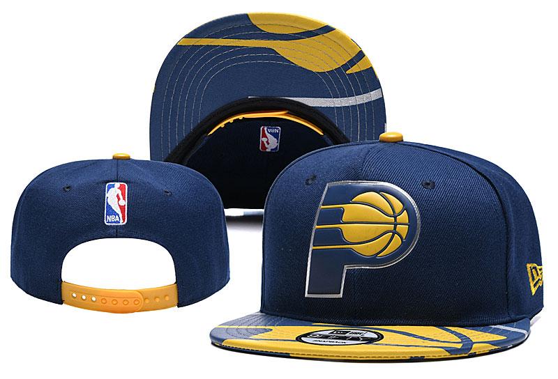 Pacers Team Logo Navy Adjustable Hat YD