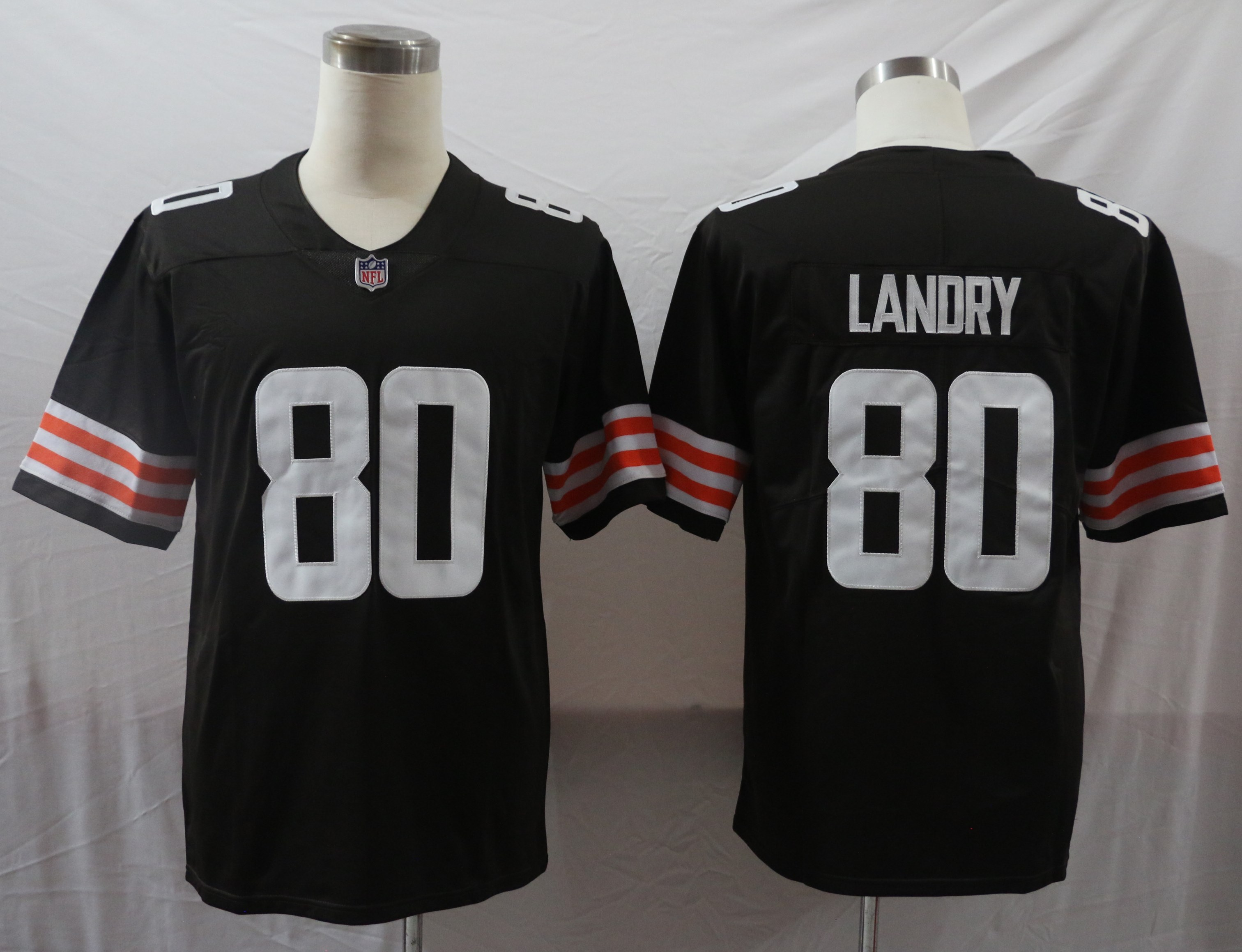 Nike Browns 80 Jarvis Landry Brown 2020 New Vapor Untouchable Limited Jersey