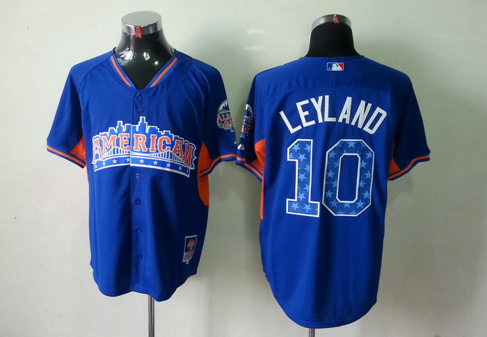 American League 10 Leyland blue 2013 All Star Jerseys