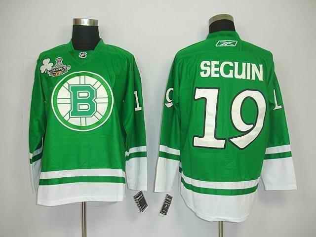 Bruin 19 Seguin Green Champions Jerseys