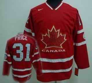 Canada 31 PRICE Red Jerseys