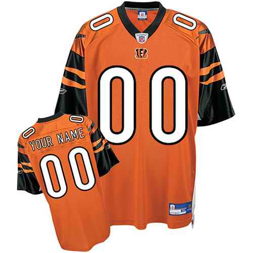Cincinnati Bengals Youth Customized orange Jersey