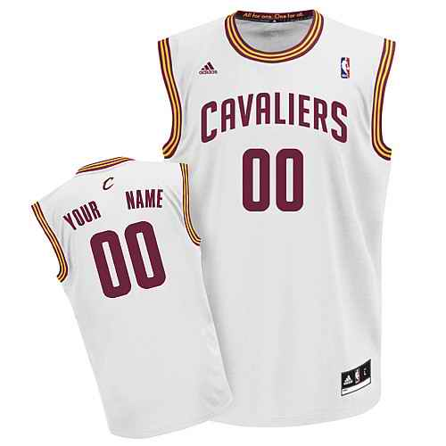 Cleveland Cavaliers Youth Custom white Jersey