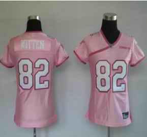 Cowboys 82 Witten pink women Jerseys