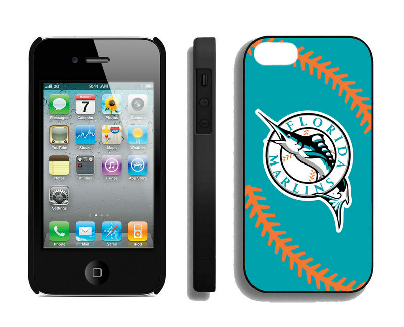 Florida Marlins-iPhone-4-4S-Case