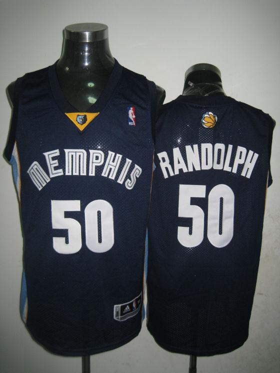 Grizzlies 50 Zach Randolph Blue Swingman Jersey