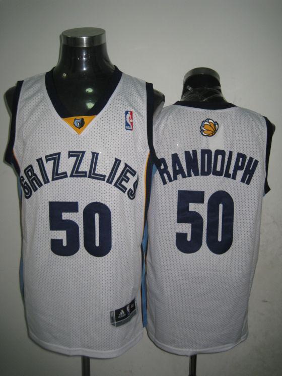 Grizzlies 50 Zach Randolph White Swingman Jersey