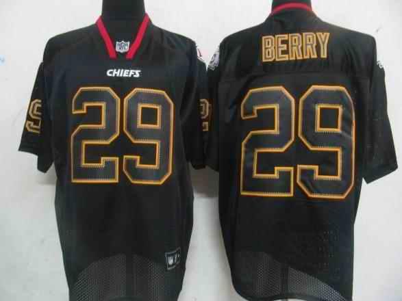 Kansas City Chiefs 29 Berry black field shadow Jerseys