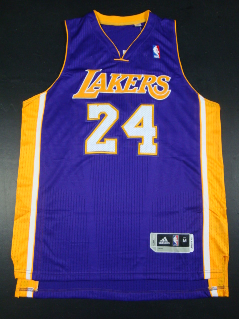 Lakers 24 Kobe Purple AAA Jerseys