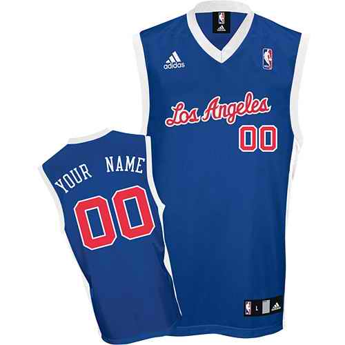 Los Angeles Clippers Youth Custom blue Jersey